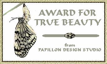 Flutterby Beauty Award